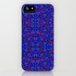 """NeonBlue Peace Rose"" by surrealpete iPhone Case"