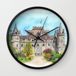 Inveraray Castle Wall Clock
