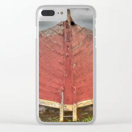 Fortress of Louisbourg fishing boat Clear iPhone Case