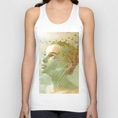 The spirit of the forgotten clearing Unisex Tank Top