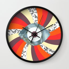 Hypno Retro Eye Wall Clock