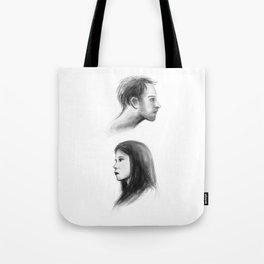elementary: better half Tote Bag