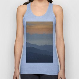 """""""Sunset at the mountains"""". Dreaming... Unisex Tank Top"""