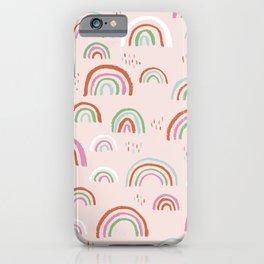 Rainbow sky love magic dream land baby nursery girls iPhone Case