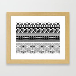 Modern Black 2 Framed Art Print