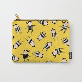 Stripes & Smiles Carry-All Pouch