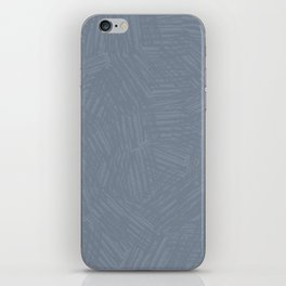 Light Slate Gray Marks iPhone Skin