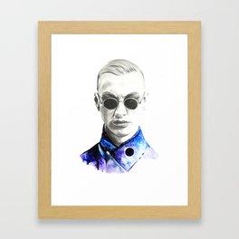 Mr. Universe Framed Art Print