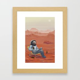 The View is Amazing Framed Art Print