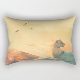 Lion Airlines Flight by GEN Z Rectangular Pillow