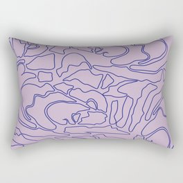 Pastel Pattern II Rectangular Pillow