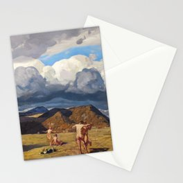 Men and Mountains by Rockwell Kent, 1909 Stationery Cards