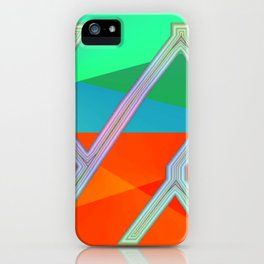 Way of information ... iPhone Case