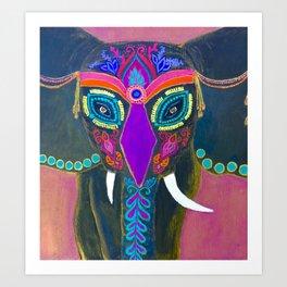 Elephant? Art Print