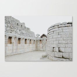 Macchu Picchu Canvas Print