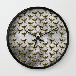 Phoenix Pattern Wall Clock