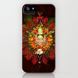 The flower hunter iPhone Case
