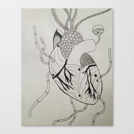 Worm Holes Canvas Print