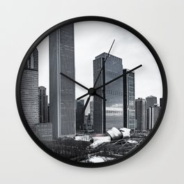 Chicago Lake Michigan View Wall Clock