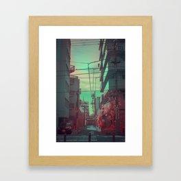 Infrapink 04 Framed Art Print