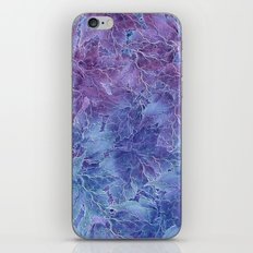 Frozen Leaves 4 iPhone & iPod Skin