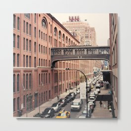 NYC From the High Line Metal Print