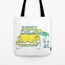 sk8ter girl Line Art Poster | Print | Art | Painting Tote Bag