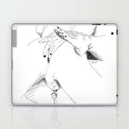 what what in the butt Laptop & iPad Skin
