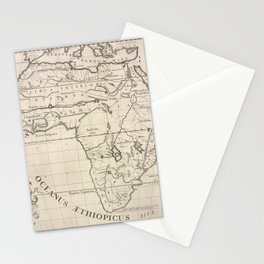A new map of Libya or old Africk shewing its general divisions, most remarkable countries or people, cities, towns, rivers, mountains &c.Additional An Stationery Cards