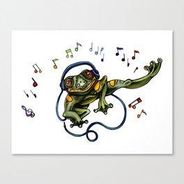 Frog Dancer Canvas Print