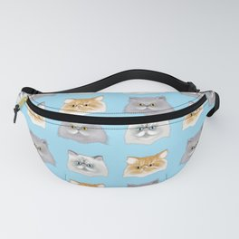 Purrfect Persian Pattern Fanny Pack