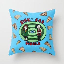 It's a Sick, Sad World Daria Morgendorffer Throw Pillow