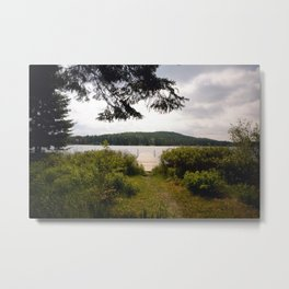 Lac Ménard Metal Print
