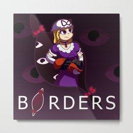 BORDERS Metal Print