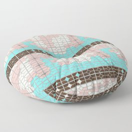 desert modernism Floor Pillow