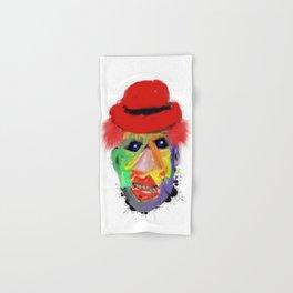 clown with cigar Hand & Bath Towel