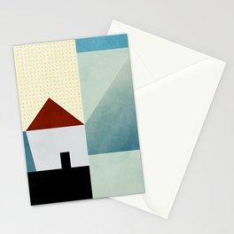 la petite maison en bleu Stationery Cards