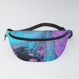Cotton Candy Twist Fanny Pack