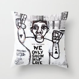 2013 Taught you how to be you  Throw Pillow