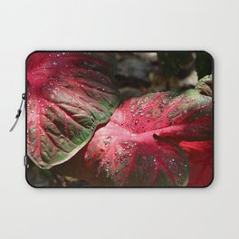 Tropical Rain - Botanical Art by Sharon Cummings Laptop Sleeve