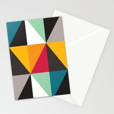 Geometric Pattern #30 (triangles) Stationery Cards