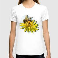 novelty T-shirts featuring Bees by Moody Muse