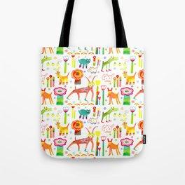 Animal Garden Tote Bag