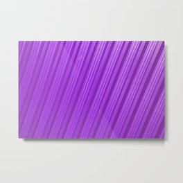 Stripes II - mauve Metal Print