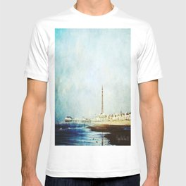 On The Front Textured Fine Art Photograpy T-shirt