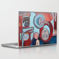 madonna Laptop & iPad Skins featuring Madonna de la Cabeza by cathie joy young