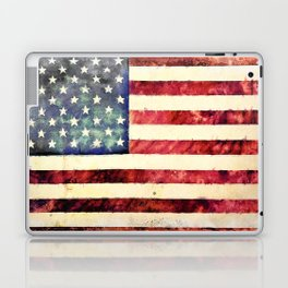 Vintage American Flag Laptop & iPad Skin