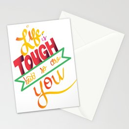 life is tough Stationery Cards