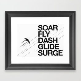 Rise Up Framed Art Print
