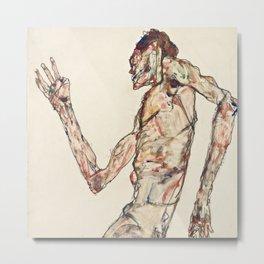"Egon Schiele ""The Dancer"" Metal Print"
